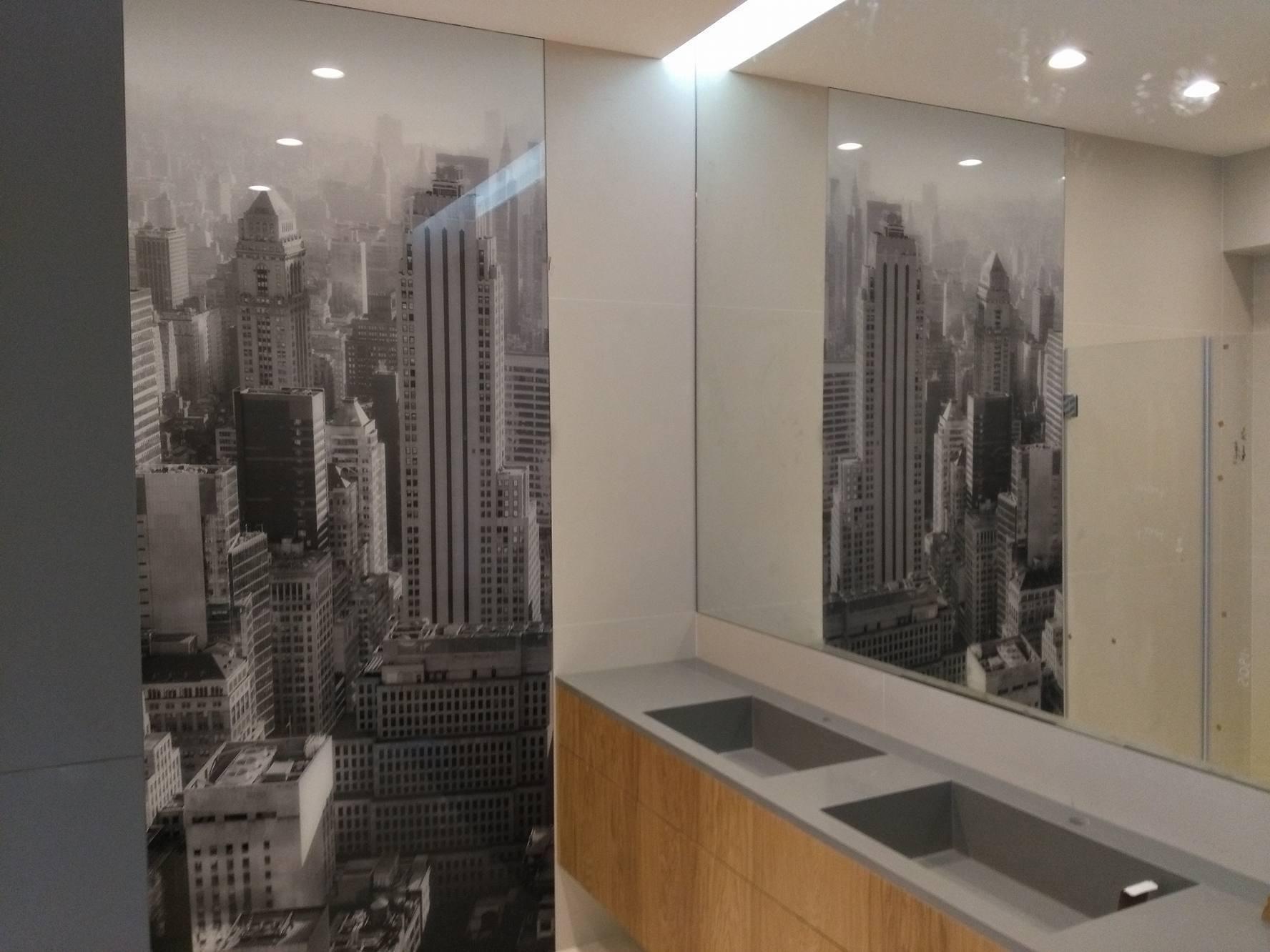 Panel Szklany łazienka